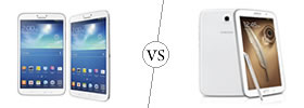 Samsung Galaxy Tab 3 8.0 vs Samsung Galaxy Note 8.0