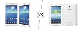 Samsung Galaxy Tab 3 8.0 vs Samsung Galaxy Tab 3 7.0