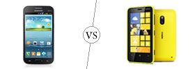 Samsung Galaxy Win vs Nokia Lumia 620