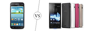 Samsung Galaxy Win vs Sony Xperia J