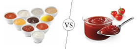 Sauce vs Ketchup