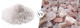 Sea Salt vs Rock Salt