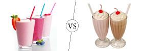 Shake vs Malt