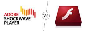 Shockwave vs Flash