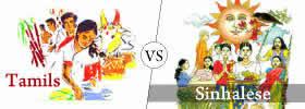 Sinhalese vs Tamils