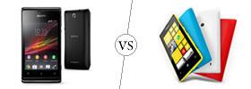 Sony Xperia E vs Nokia Lumia 520