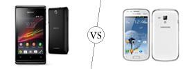Sony Xperia E vs Samsung Galaxy S Duos