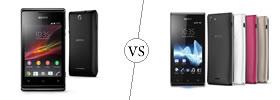 Sony Xperia E vs Sony Xperia J