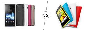 Sony Xperia J vs Nokia Lumia 520