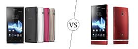 Sony Xperia J vs Sony Xperia P