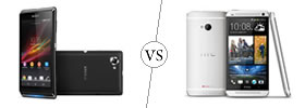 Sony Xperia L vs HTC One