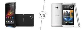 Sony Xperia L vs HTC One