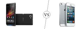 Sony Xperia L vs iPhone 5