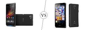 Sony Xperia L vs Xperia T
