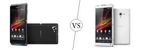 Sony Xperia L vs Xperia ZL