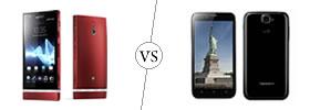 Sony Xperia P vs Karbonn Titanium S5