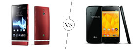 Sony Xperia P vs Nexus 4