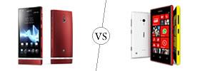 Sony Xperia P vs Nokia Lumia 720