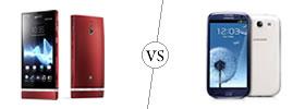 Sony Xperia P vs Samsung Galaxy S3