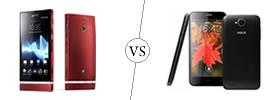 Sony Xperia P vs XOLO Q800