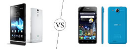 Sony Xperia S vs Alcatel One Touch Idol Ultra
