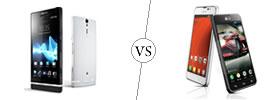 Sony Xperia S vs LG Optimus F5