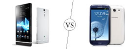 Sony Xperia S vs Samsung Galaxy S3