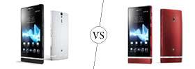 Sony Xperia S vs Sony Xperia P