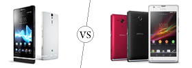 Sony Xperia S vs Sony Xperia SP