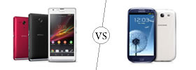 Sony Xperia SP vs Samsung Galaxy S3
