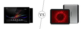 Sony Xperia Z Tab vs Karbonn Cosmic Smart Tab 10