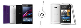 Sony Xperia Z Ultra vs HTC One