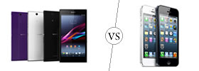 Sony Xperia Z Ultra vs iPhone 5