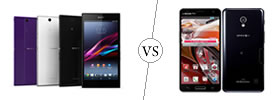 Sony Xperia Z Ultra vs LG Optimus G Pro