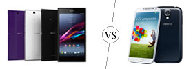 Sony Xperia Z Ultra vs Samsung Galaxy S4