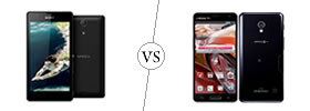 Sony Xperia ZR vs LG Optimus G Pro