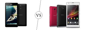 Sony Xperia ZR vs Sony Xperia SP