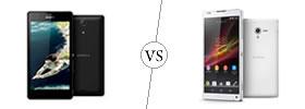 Sony Xperia ZR vs Sony Xperia ZL