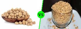 Soya Chunks vs Soya Granules