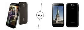 Spice Stellar Pinnacle Pro vs Karbonn Titanium S5