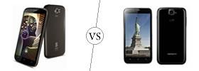 Spice Stellar Pinnacle Pro vs Karbonn Titanium S5