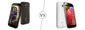 Spice Stellar Pinnacle Pro vs Micromax A116 Canvas HD