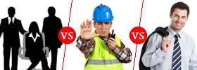 Staff vs Worker vs Employee
