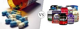 Steroids vs Supplements