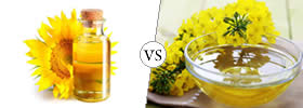 Sunflower Oil vs Canola Oil