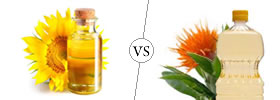 Sunflower Oil vs Safflower Oil