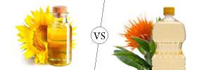 Sunflower Oil vs Safflower Oil