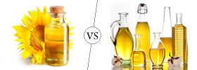 Sunflower Oil vs Vegetable Oil