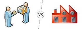 Supplier vs Manufacturer