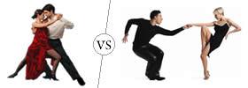 Tango vs Salsa Dance